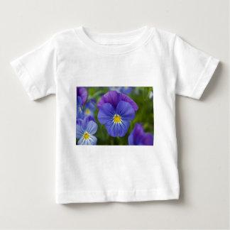 Lila Pansy Baby T-shirt