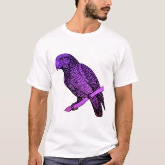Lila Papagei T-Shirt