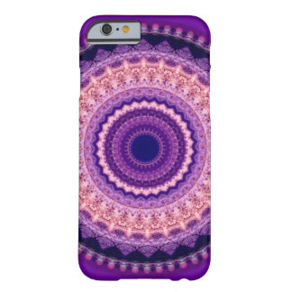 Lila ParadiesMandala iPhone 6 Kasten Barely There iPhone 6 Hülle