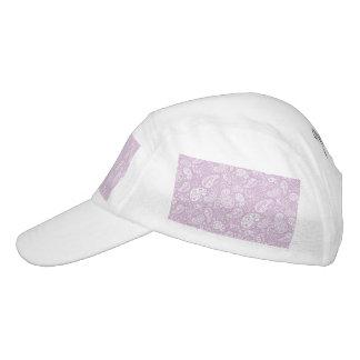 Lila Pastellfrühling Paisely Headsweats Kappe