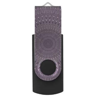 Lila Pastellmandala USB Stick