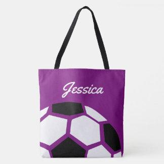 Lila personalisierter Trendy stilvoller Tasche