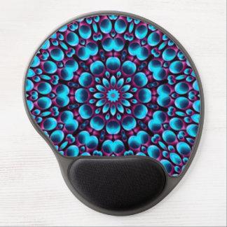 Lila Pfeifer-Vintages Kaleidoskop-Gel Mousepad