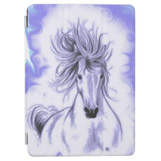 Lila Pferd iPad Air Hülle