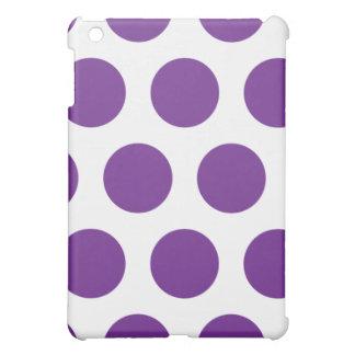 Lila Polkapunkt iPad Mini iPad Mini Hülle