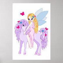 Lila Pony-Plakat
