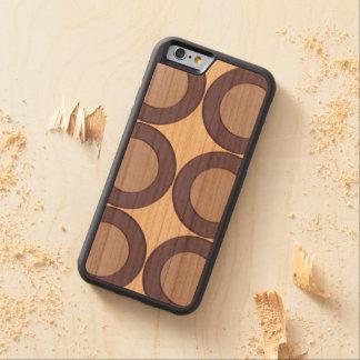 Lila Punkt Bumper iPhone 6 Hülle Kirsche