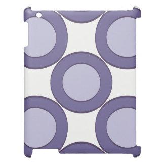 Lila Punkt iPad Hülle