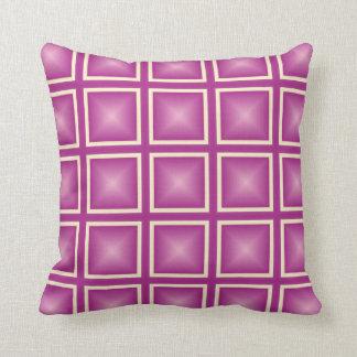 Lila quadratisches Zazzlicious Kissen