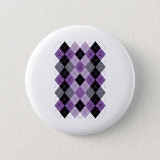 Lila Raute Runder Button 5,7 Cm