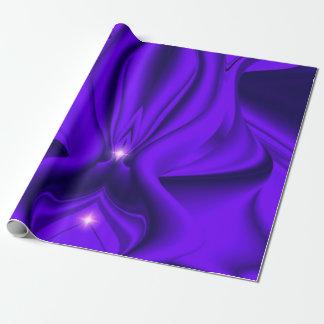 Lila Regenbogen-Traum - zwei Sterne Geschenkpapier