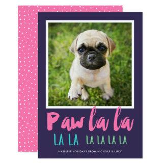 Lila Rosa der 12,7 X 17,8 Cm Einladungskarte