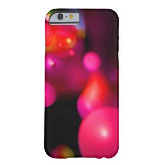 LILA ROSA PINKFARBENE ORANGE QUANTUMS-BLASEN BARELY THERE iPhone 6 HÜLLE