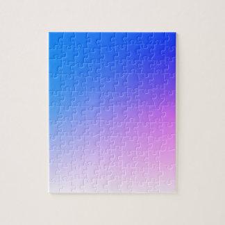 Lila rosa städtischer Hintergrund - addieren Sie Puzzle