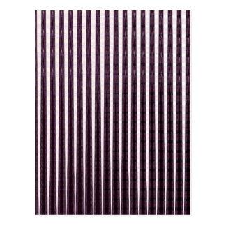Lila Schein Stripes Romance SPASS der Tag des Postkarte