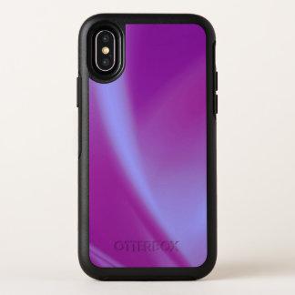 Lila Seiden OtterBox Symmetry iPhone X Hülle