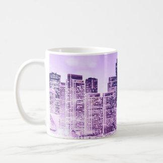 Lila SF Kaffeetasse