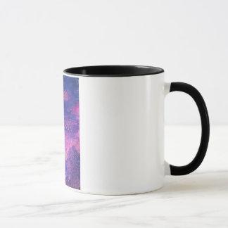 Lila Sonnenuntergangconfetti-Tasse Tasse
