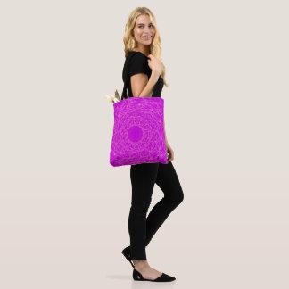 Lila Spiraletasche Tasche