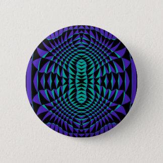 Lila Spitzen 2 Knopf Runder Button 5,7 Cm
