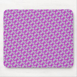 Lila Standardband durch Kenneth Yoncich Mousepad