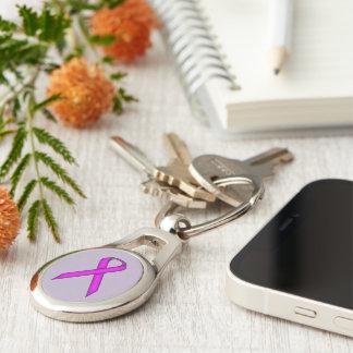 Lila Standardband Schlüsselanhänger