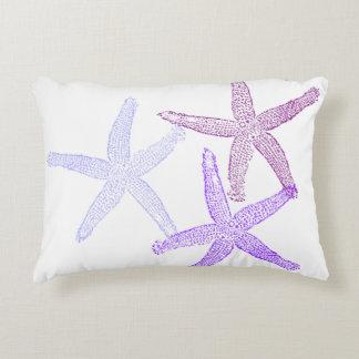 Lila Starfishkissen Zierkissen