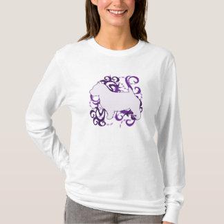 Lila Strudel-Norwich-Terrier T-Shirt