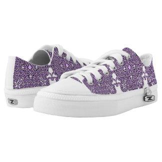 Lila StrudelTech Niedrig-geschnittene Sneaker