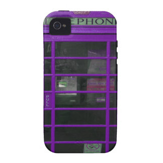 lila Telefonstand Vibe iPhone 4 Case