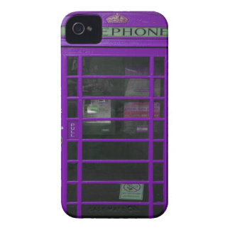 lila Telefonstand iPhone 4 Case-Mate Hülle