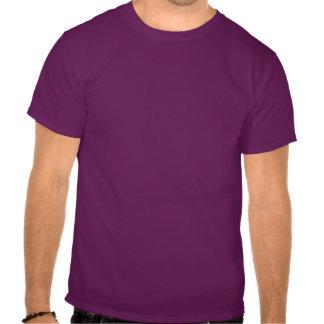 Lila Tennis-T - Shirt mit lustigem Zitat