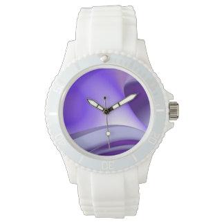 Lila Träume Armbanduhr
