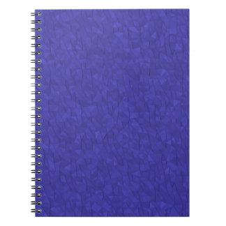 Lila Triangulations-Notizbuch Notizblock