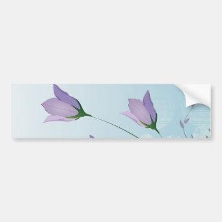 lila Tulpeentwurf des eleganten Lavendels Auto Aufkleber