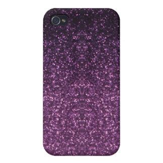 Lila Tupfen-Speck-Kasten Etui Fürs iPhone 4