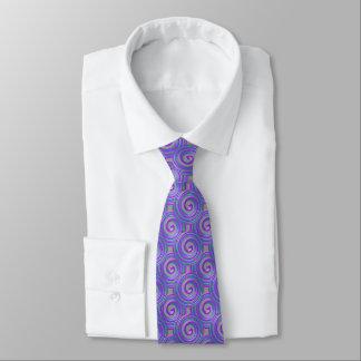 Lila Türkis windt sich Hals-Krawatte Krawatte