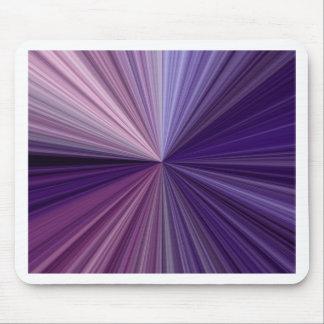 Lila u. blaue Linien Schatten eines Spektrums Mousepad