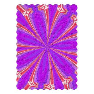 Lila u rosa modernes Muster