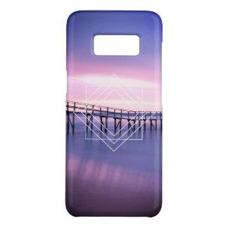 Lila u. rosa Strand-Sonnenuntergang mit Case-Mate Samsung Galaxy S8 Hülle