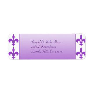 Lila u. weiße Wedding Lilie