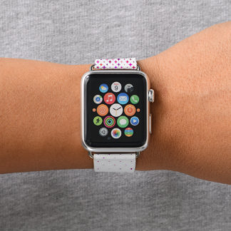 Lila Uhr der Sternexplosion-42mm Apple Apple Watch Armband