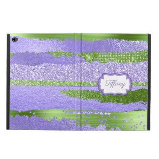 Lila und grüner Kasten Glitz-iPad Airs 2