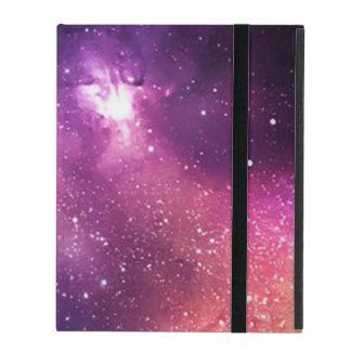 Lila und Marine-Galaxie und Sterne iPad Schutzhüllen