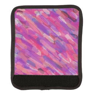 Lila und rosa abstraktes Muster Gepräckgriffwickel