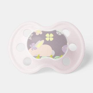 lila und rosa Häschen BooginHead® Schnuller