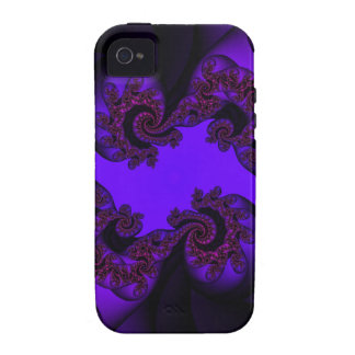 lila und rosa Paisley Case-Mate iPhone 4 Cover