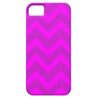 Lila und rosa Sparren iPhone 5 Etui