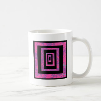 lila und rosa tasse