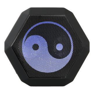 Lila und schwarzer Yin Yang Boombot REX Schwarze Bluetooth Lautsprecher